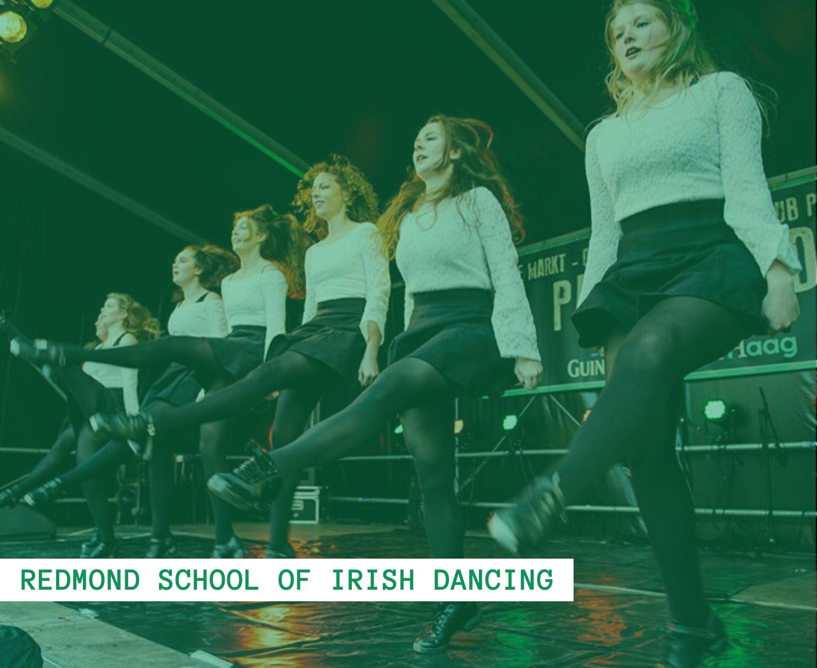 redmond school of irsh dancing - st patricks day 2020 the hague